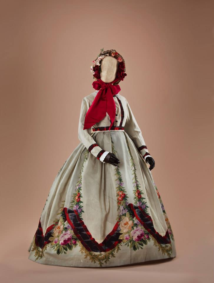 Dress, early 1860s, Collection of Alexandre Vasilliev