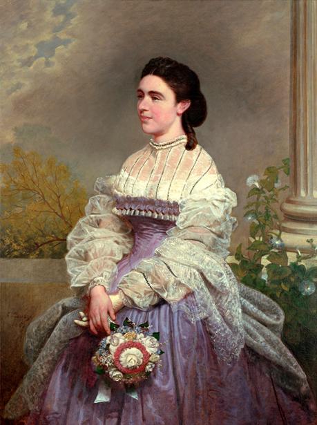 Frances Adeline 'Fanny' Seward by Emanuel Gottlieb Leutze