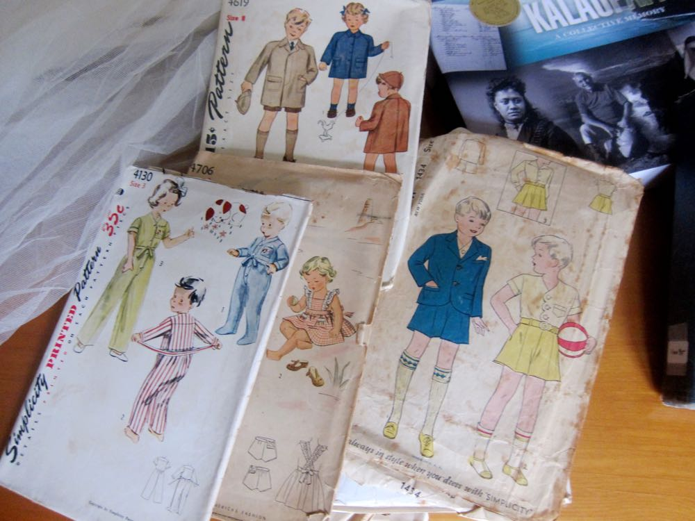1940s & 50s children's sewing patterns, thedreamstress.com