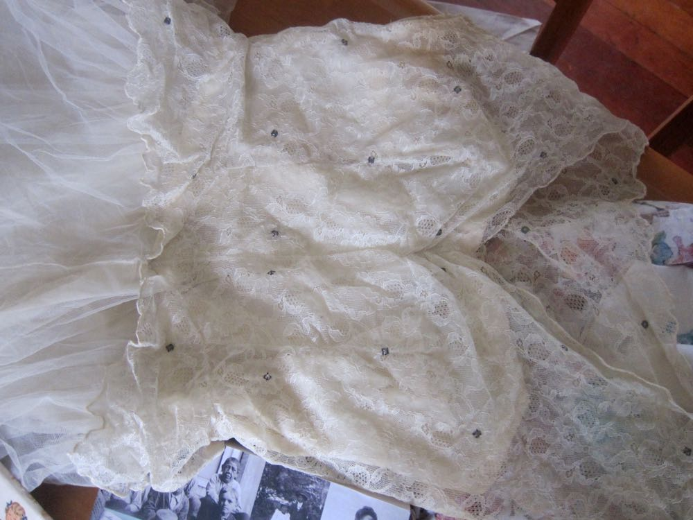 1950s tulle & lace dress, thedreamstress.com