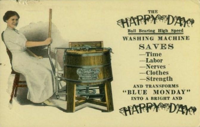 Laundry, 1910s