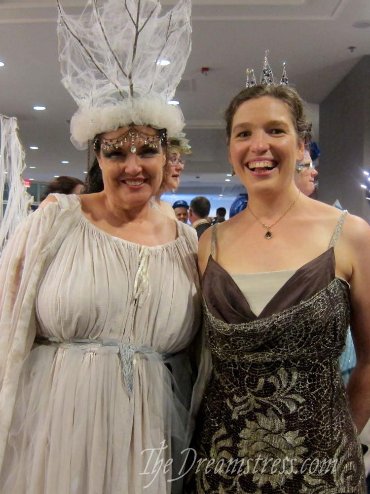 A 1914 Cobwebs evening gown, thedreamstress.com