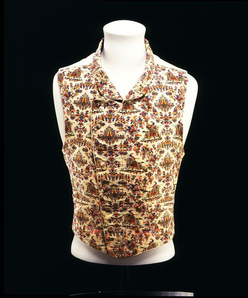 Waistcoat, Great Britain, UK, ca. 1839, Woven in wool, lined in cotton, Victoria & Albert Museum, T.129-1969