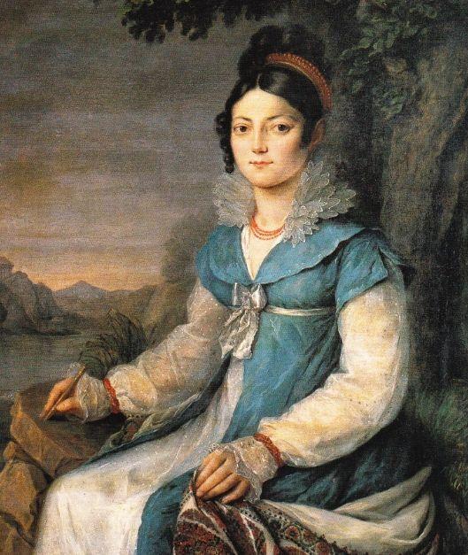 Portrait of a Lady (possibly Caroline Bonaparte-Murat, Queen of Naples) by Robert Lefèvre, 1813