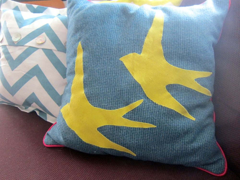 Felicity the cat and cushions thedreamstress.com
