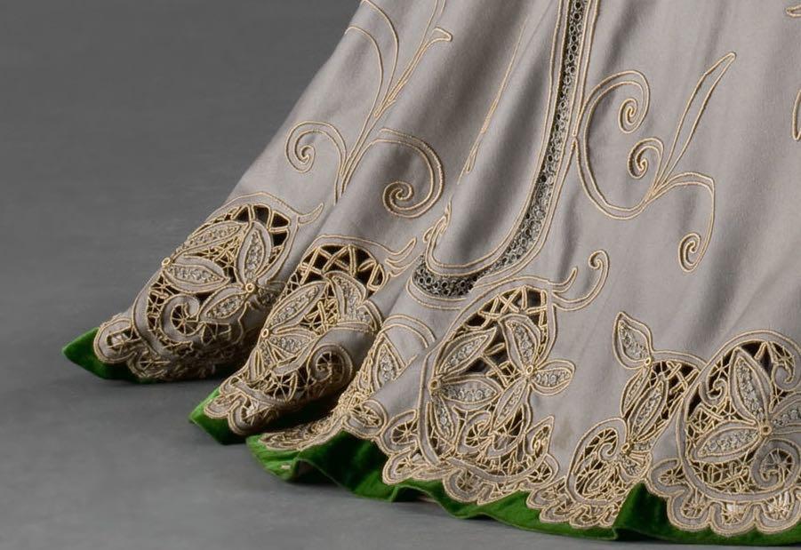 Afternoon dress, ca 1902, Museum of Decorative Arts, Prague, 77363