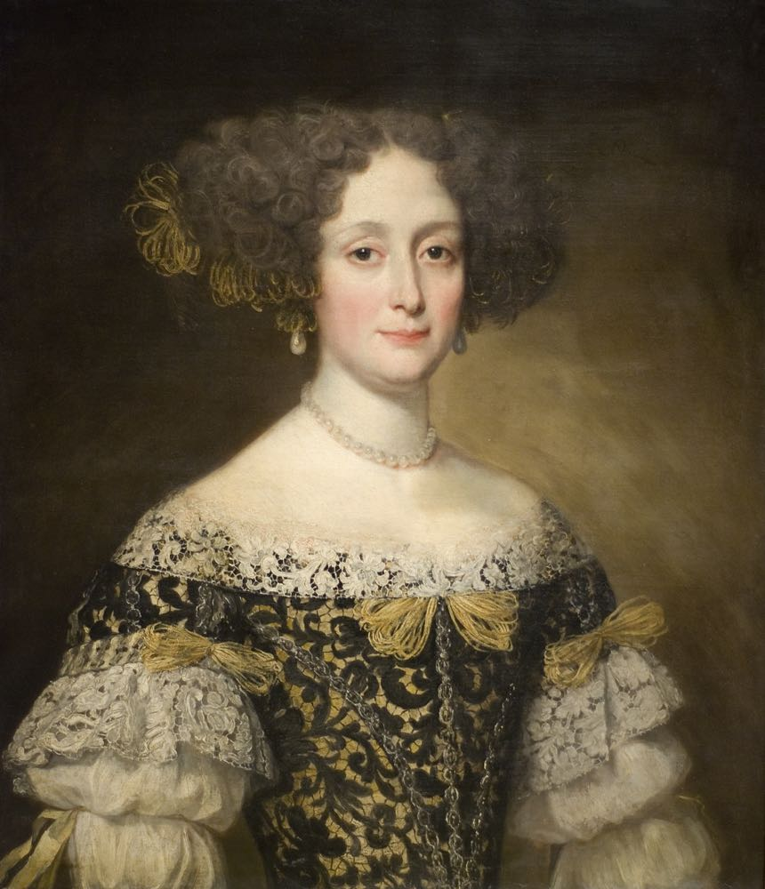 Anna Caffarelli Minuttiba, Jacob Ferdinand Voet, ca 1676. Fine Arts Museum of San Francisco, Palace of the Legion of Honor