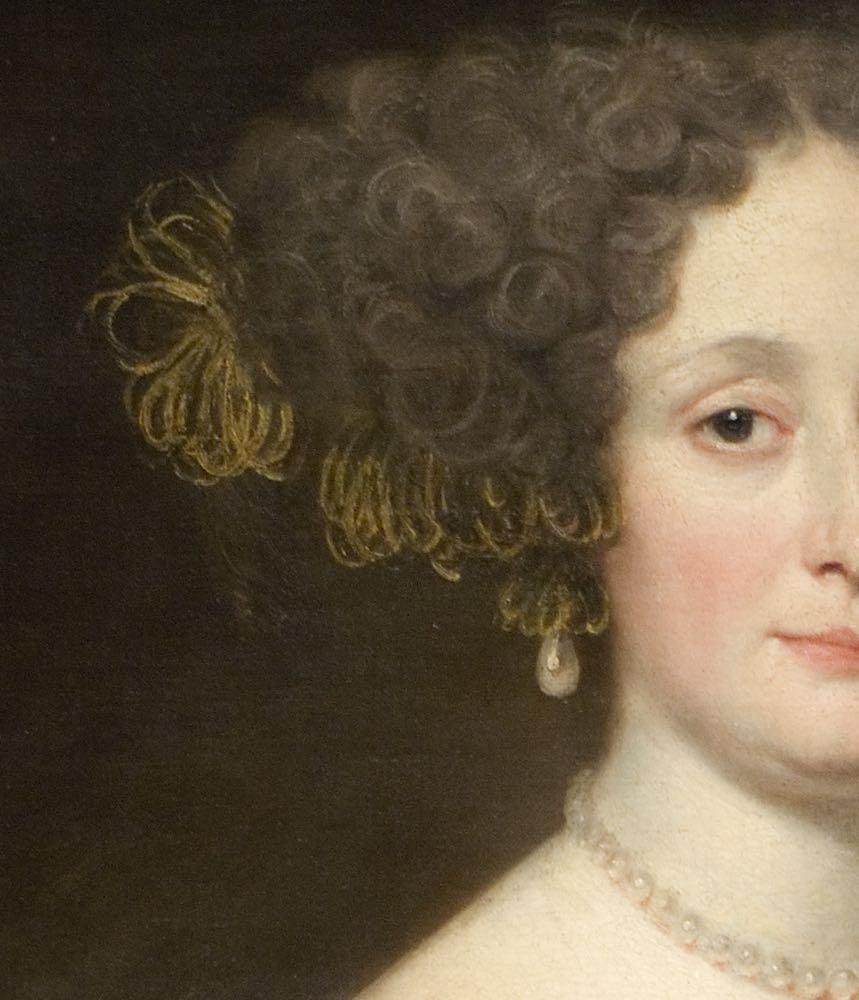 Anna Caffarelli Minuttiba, Jacob Ferdinand Voet, ca 1676. Palace of the Legion of Honor and the H.M de Young Memorial Musuem, San Francisco