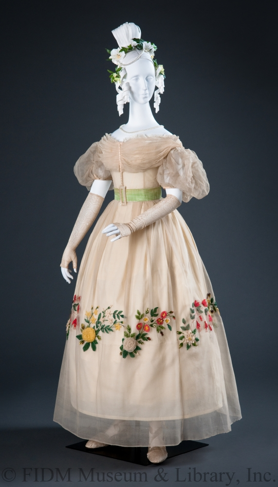 Day Dress British 1820s Helen Larson Historic Fashion Collection