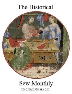 Historical Sew Monthly 2017 thedreamstress.com