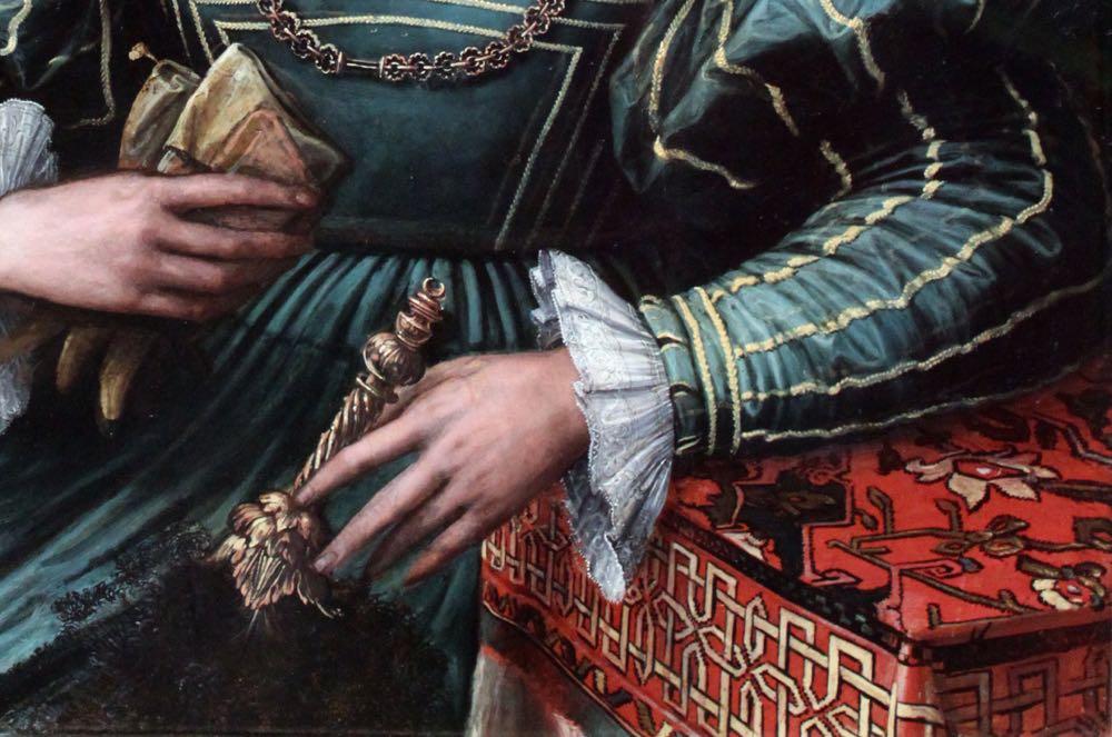 Portrait of a Lady, Peter de Kempeneer (previously attr. to Girolamo da Carpi), 1535-1550, Städel Museum, Frankfurt