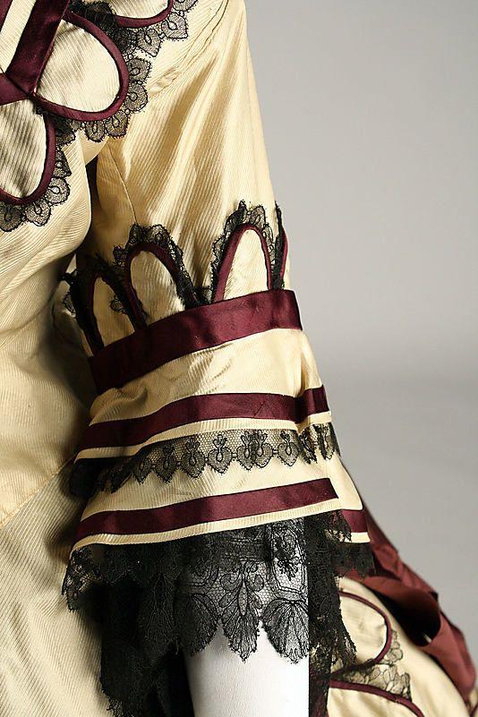 Dress,1868, British, silk, Metropolitan Museum of Art, C.I.37.46.33a–d