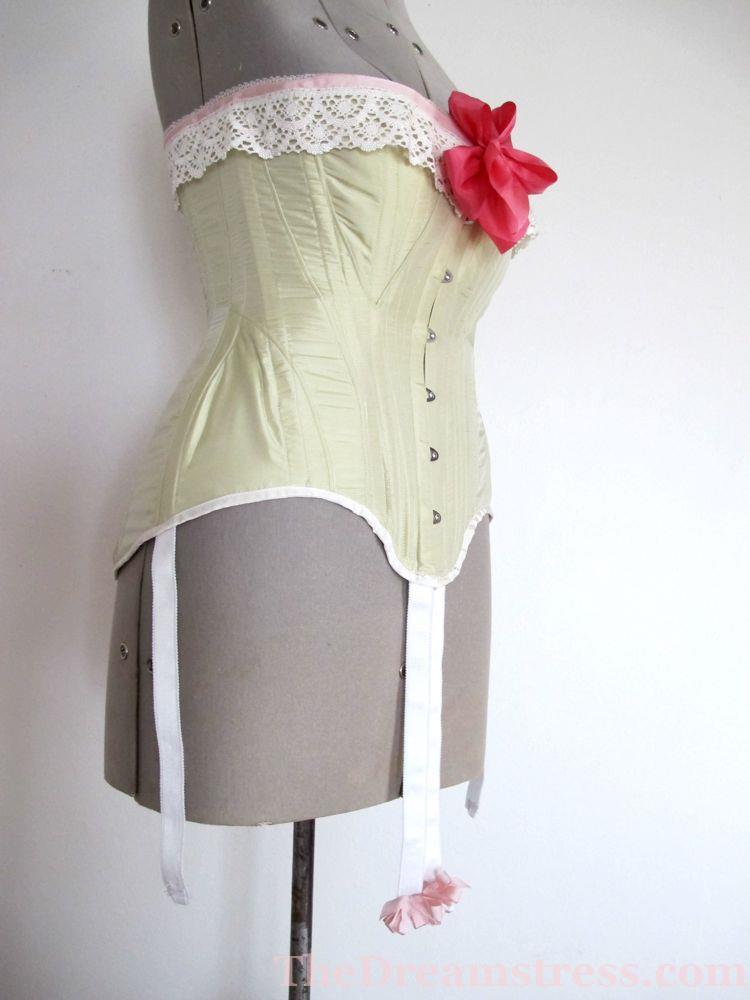 TVEO1, 1900s Edwardian corset thedreamstress.com