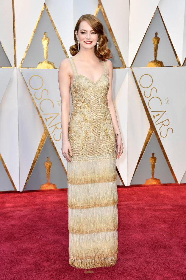 2017 Oscars, Emma Stone