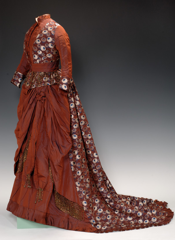 Day Dress, American, Martha J. De La Mater, c. 1876; The Fenimore Art Museum, Cooperstown, NY N0129.1966