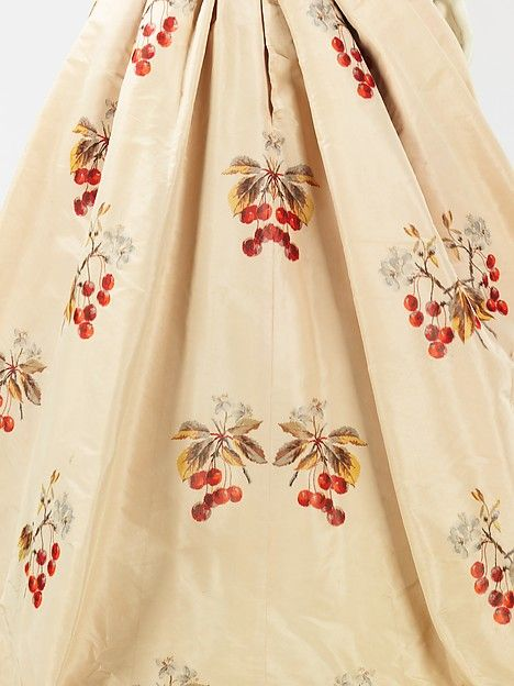 Evening dress, House of Worth (French, 1858–1956), Jean-Philippe Worth (French, 1856–1926), 1898, French, silk, rhinestones, Met 2009.300.1099a, b