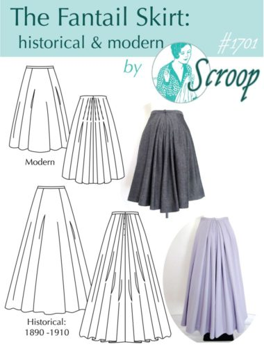 The Scroop Patterns Fantail Skirt, scrooppatterns.com