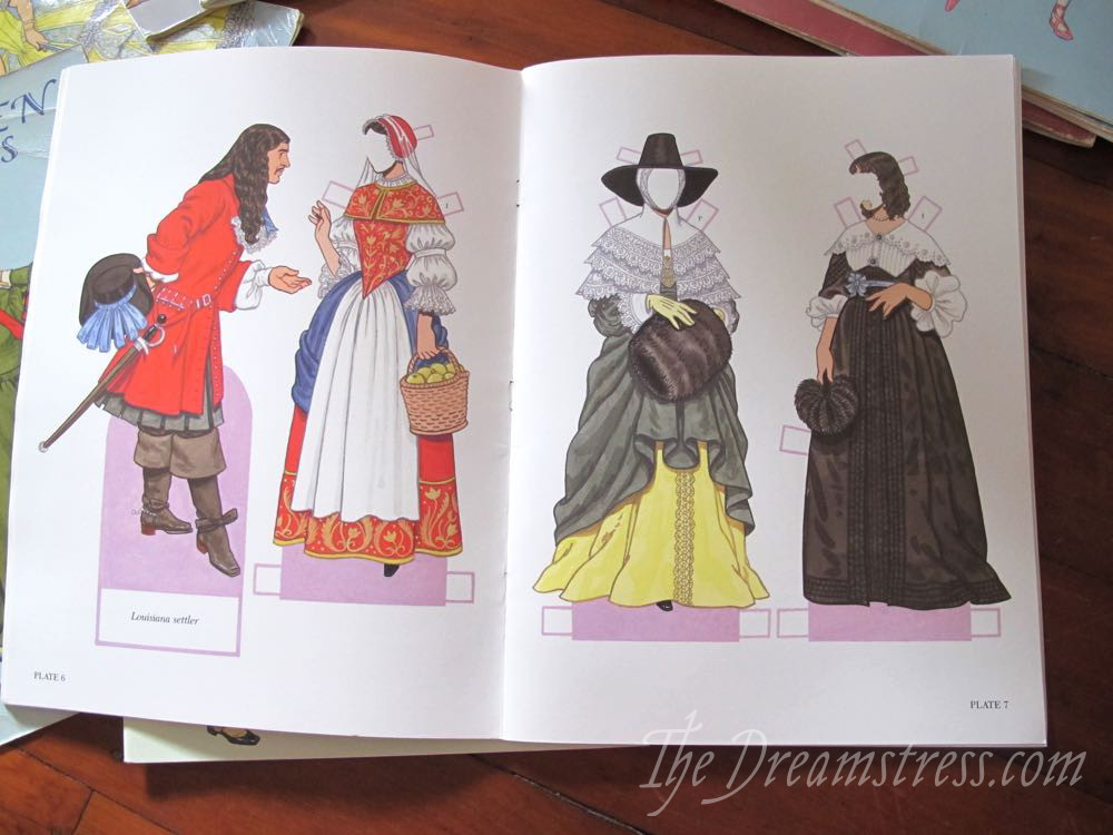 Paper doll collection, thedreamstress.com
