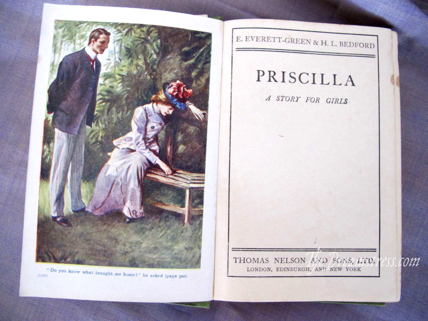 Book Review: Priscilla, thedreamstress.com