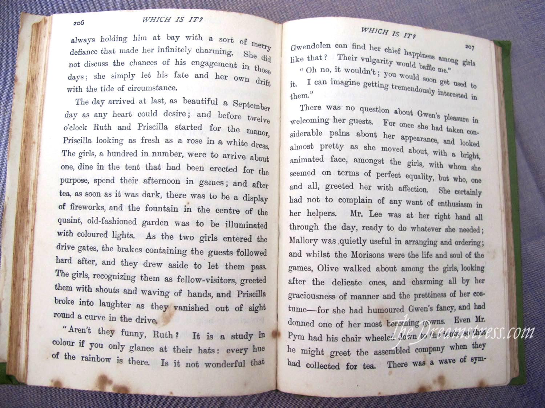 Book Review: Priscilla, thedreamstress.com