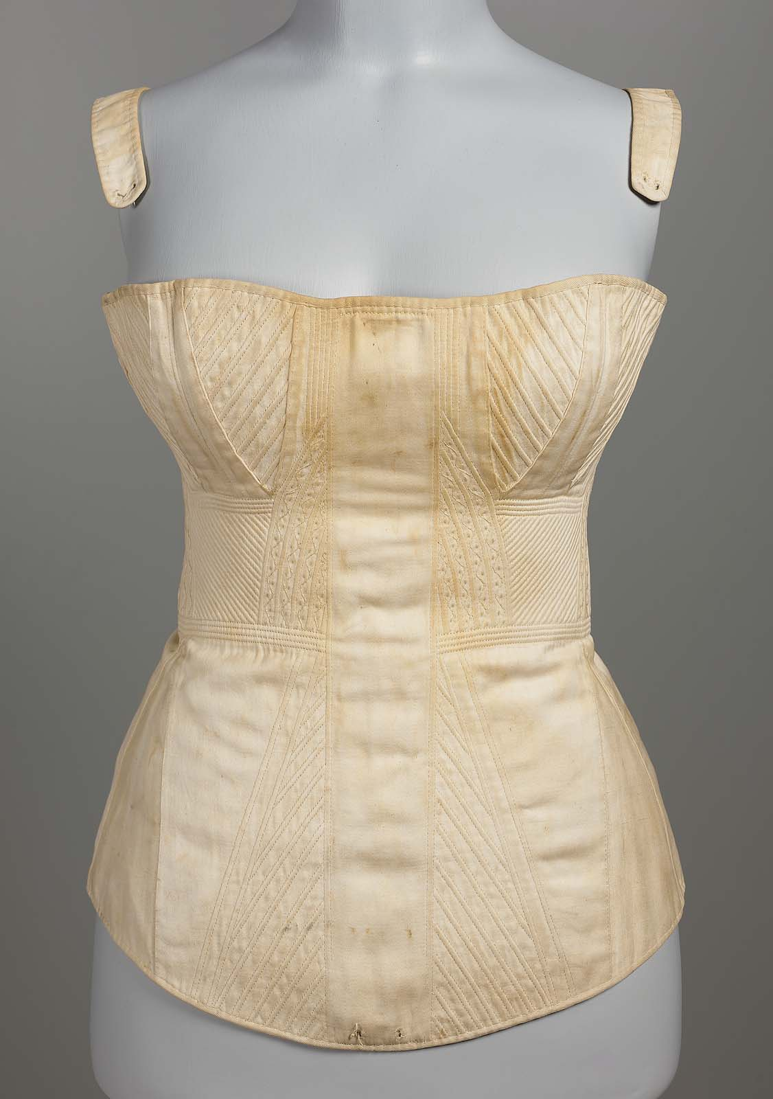 A quick guide to corset & stay styles from 1750 to 1850