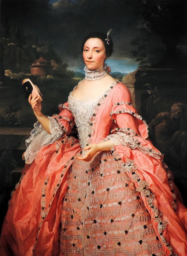 Anton Raphaël Mengs, Arabella Astley Swimmer, Lady Vincent of Stoke D'Abernon, 1753