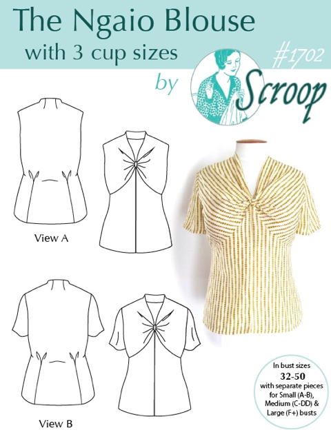 The Scroop Ngaio Blouse scrooppatterns.com