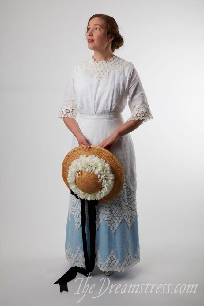 1911-12 Miss Muffet dress thedreamstress.com
