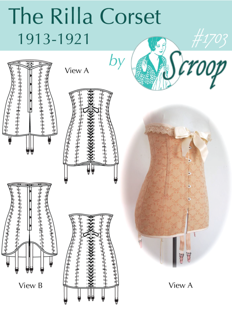 The Scroop Rilla Corset Pattern Scrooppatterns.com