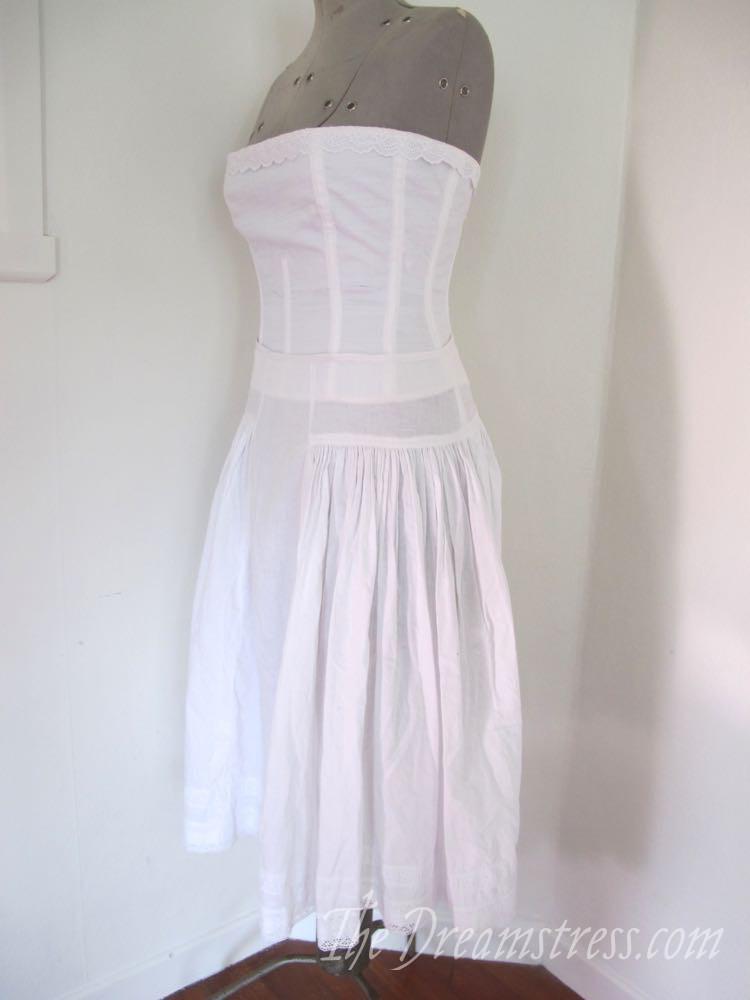 A petticoat for a 1916 evening dress thedreamstress.com