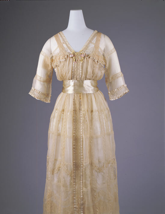 Dress, Lucile (British, 1863–1935), 1916–17, British, silk, cotton, Metropolitan Museum of Art, 1978.288.1a, b