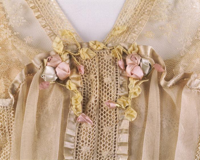 Dress, Lucile (British, 1863–1935), 1916–17, British, silk, cotton, Metropolitan Museum of Art, 1978.288.1a, b