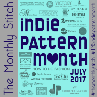 Indie Pattern Month 2017, The Monthly Stitch