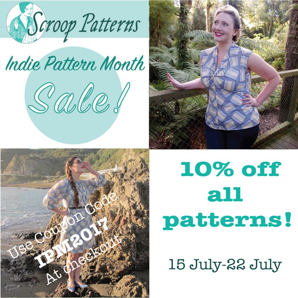Scroop Patterns - 10% off with the code IPM2017