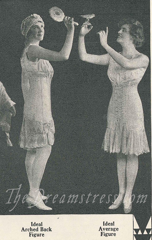 Gossard Corsets ad, The Designer Oct 1916, thedreamstress.com
