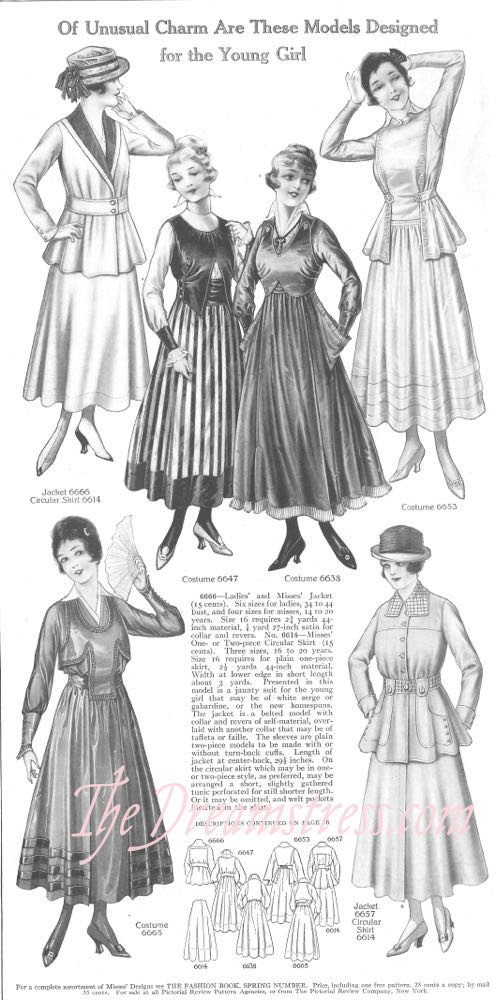 Pictoral Review, April 1916, thedreamstress.com