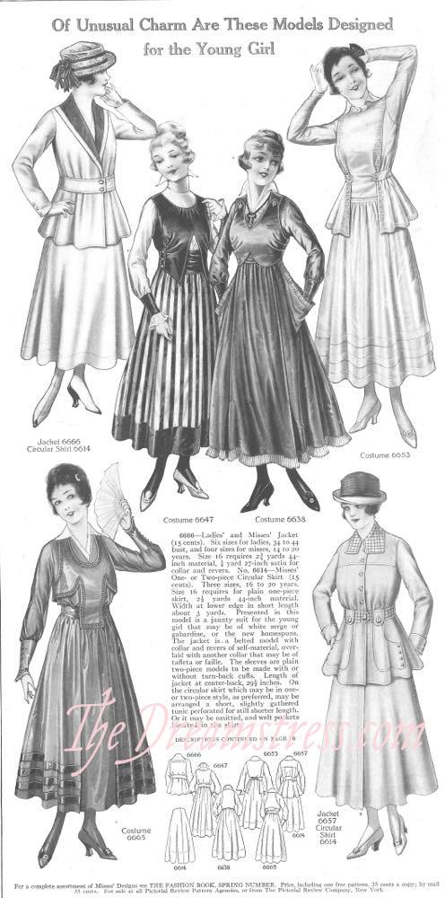 Pictoral Review, April 1916, thedreamstress.com