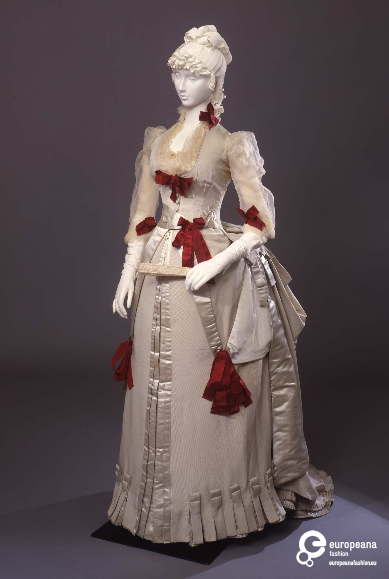 Rate The Dress: Red Ribbons, 1884