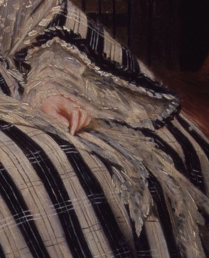 Angela Georgina Burdett-Coutts, Baroness Burdett-Coutts, ca. 1840, NPG, detail
