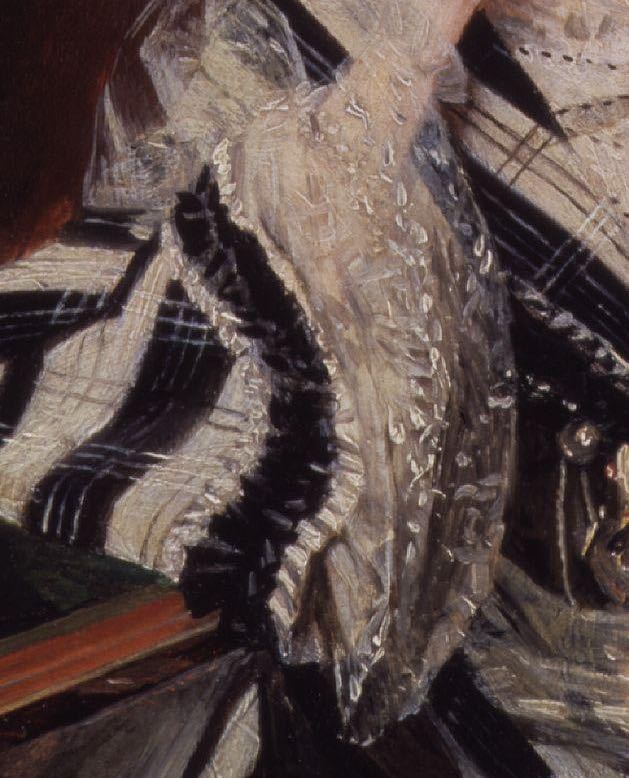 Angela Georgina Burdett-Coutts, Baroness Burdett-Coutts, ca. 1840, NPG, detail