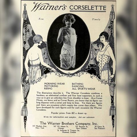 Warners Corselette 1921