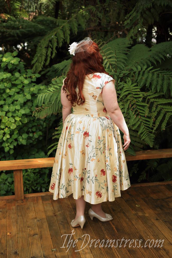 Emily's Wedding Dress, thedreamstress.com