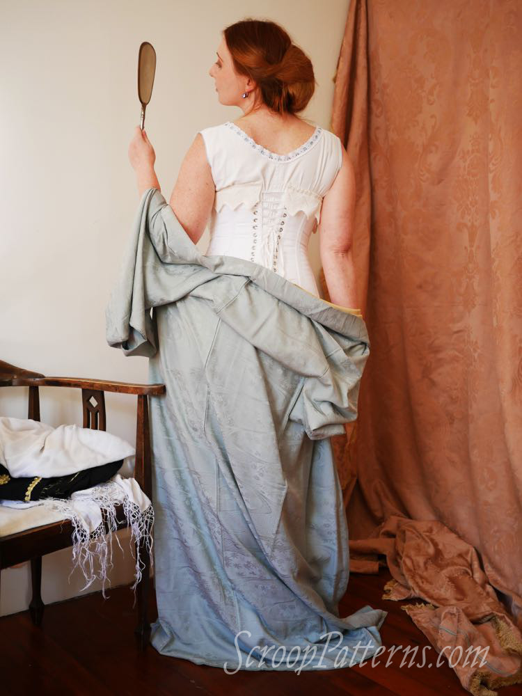 WWI era corset, 1910s corset, Rilla corset, corset pattern