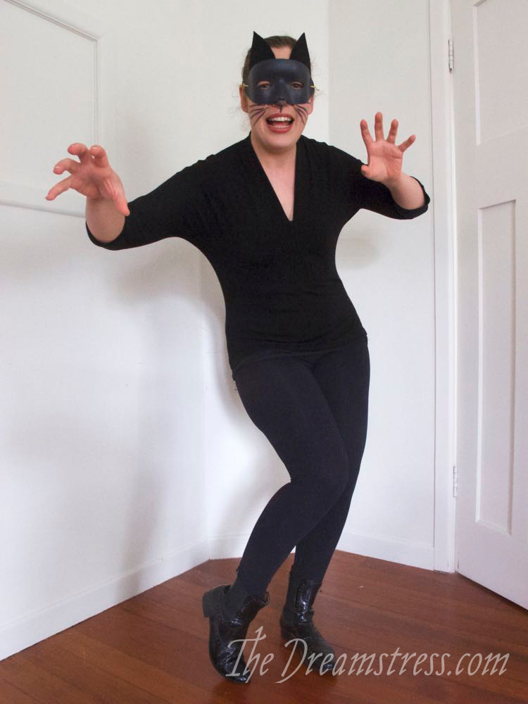 Scroop Patterns, Halloween Costume, Catwoman