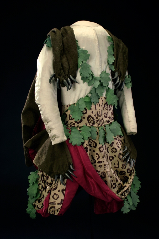 Wild man costume worn by Karl XIII of Sweden, 1778, Collection Livrust Chamber, inventory number 29290 (17: 162), emuseumplus.ish.se