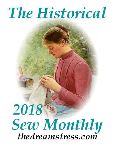 Historical Sew Monthly 2018 thedreamstress.com