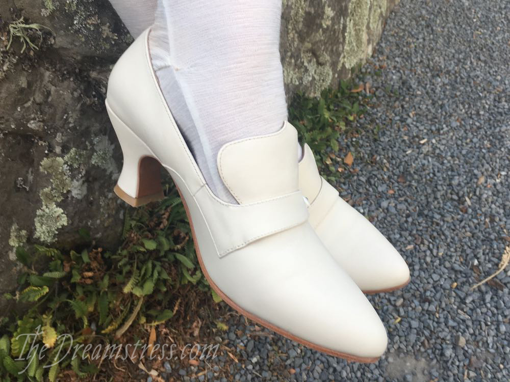 Review: The American Duchess Moliere Shoes thedreamstress.com