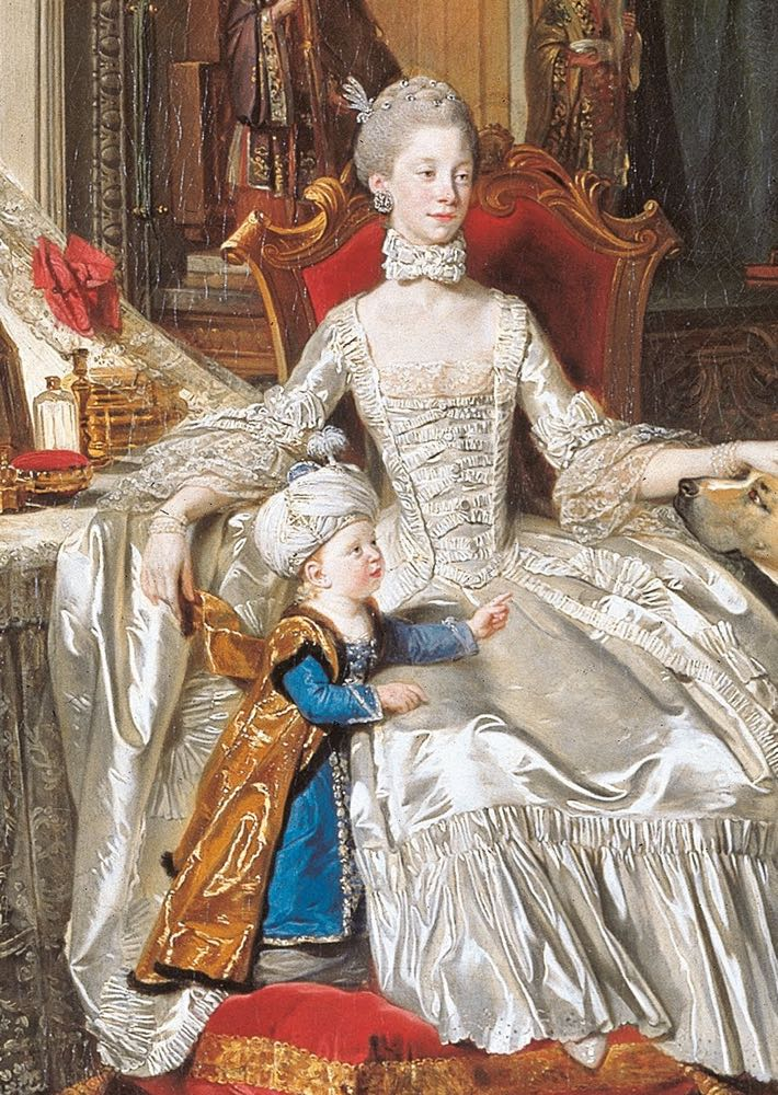Queen Charlotte by Zoffany, 1765