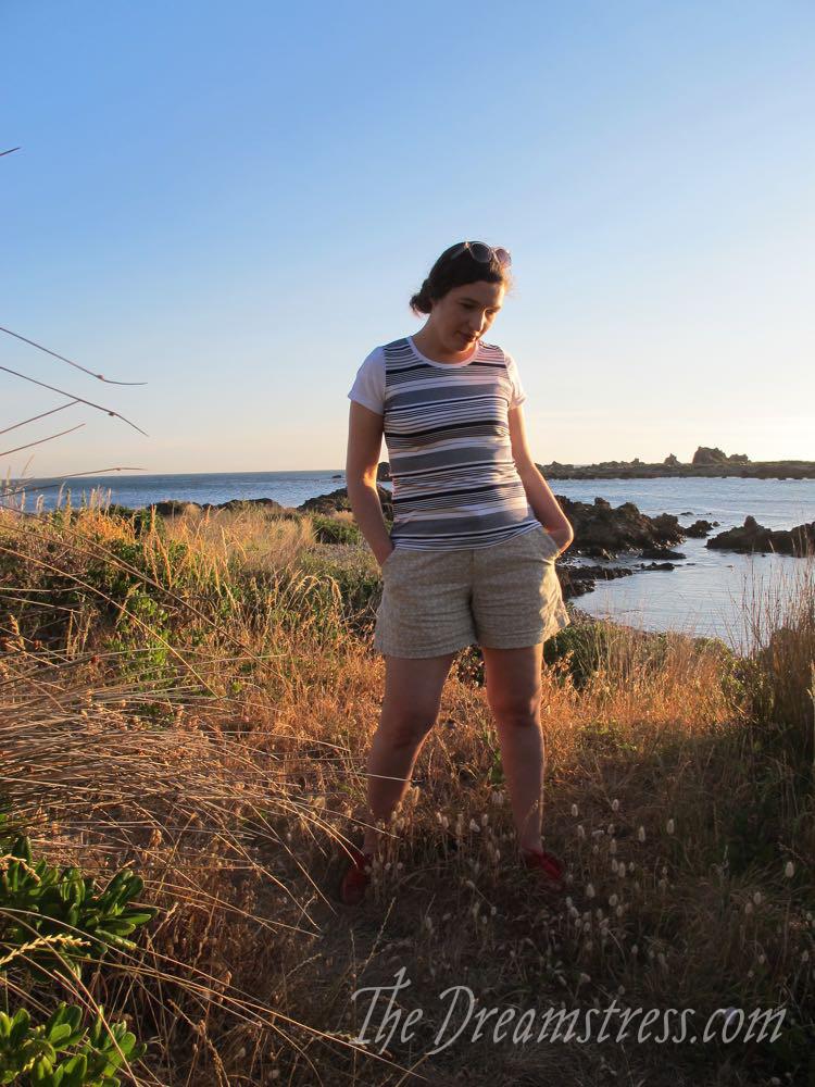 Barcode Shirt & Smaug Shorts thedreamstress.com