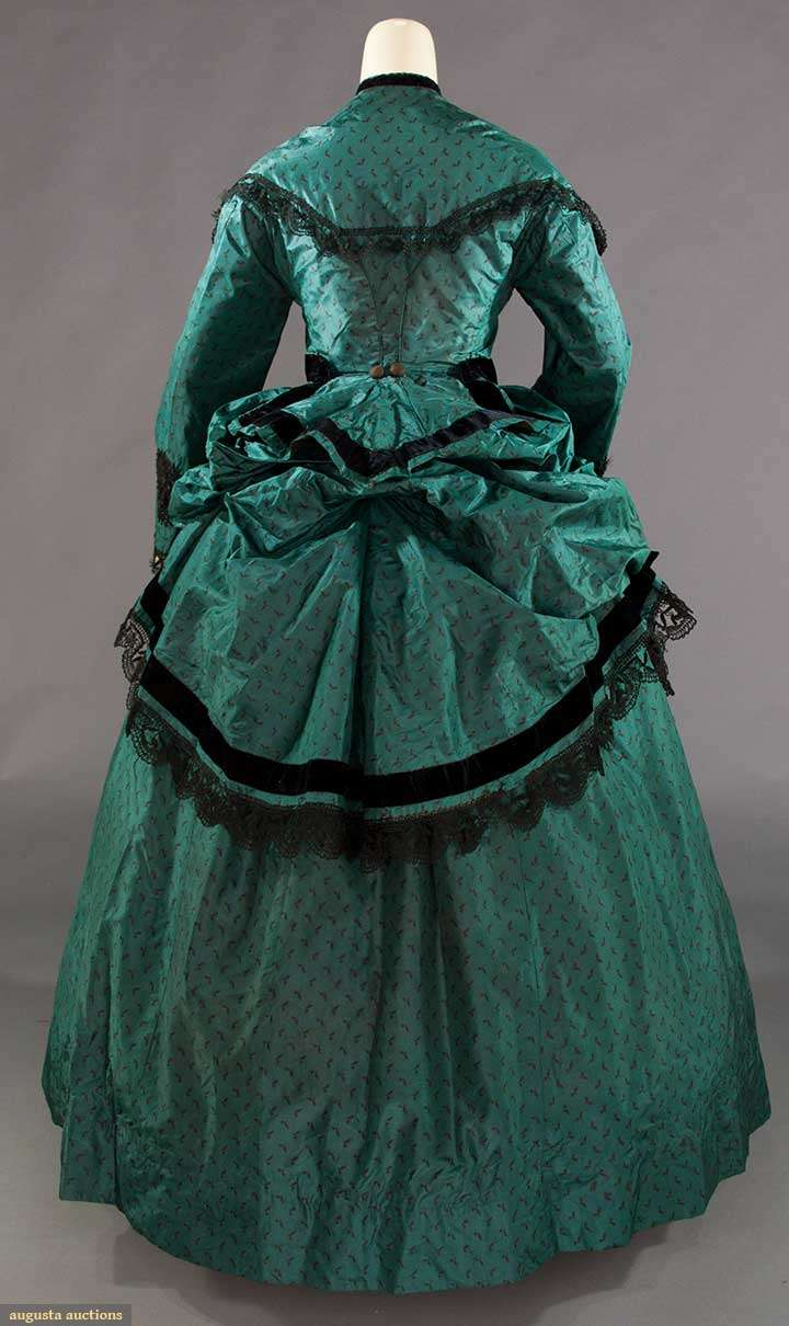 First bustle era dress